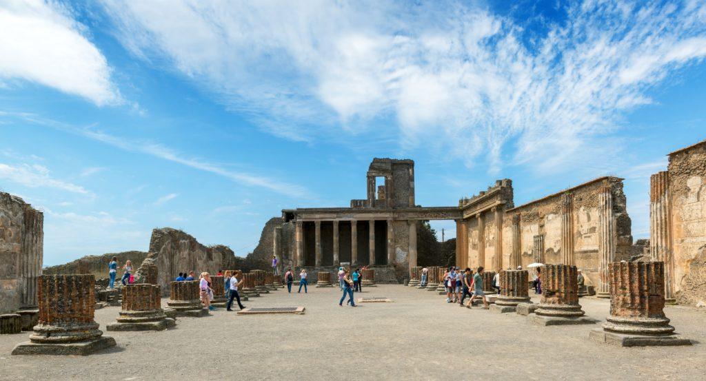 Ruínas de Pompeia - Sul da Itália. Foto: Scaliger / Bigstockphotos